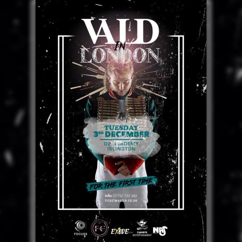 VALD EN CONCERT EXCEPTIONNEL À LONDRES